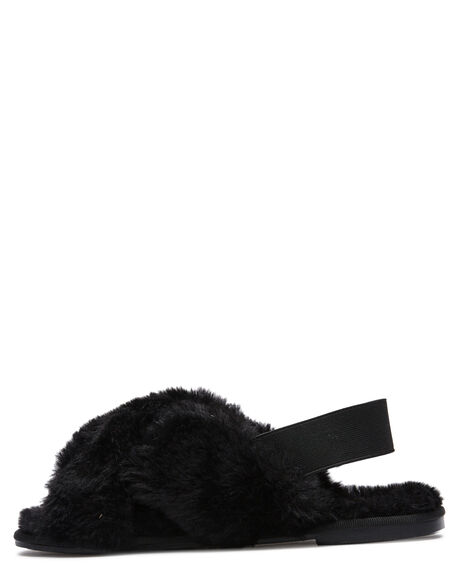 BLACK WOMENS FOOTWEAR ST SANA SLIDES - ST211W200BLK
