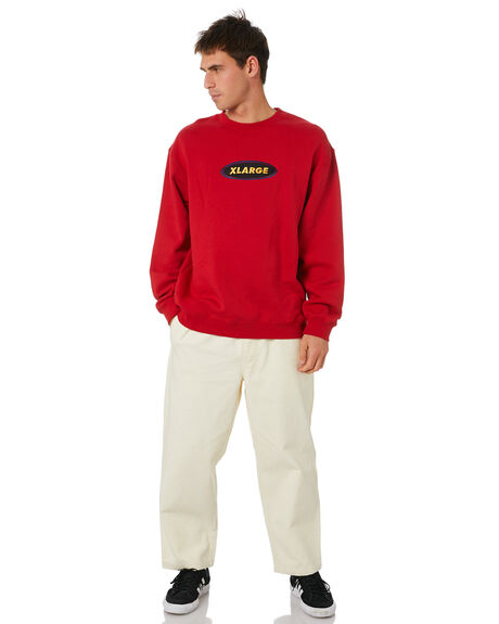RED MENS CLOTHING XLARGE JUMPERS - XL004202RED