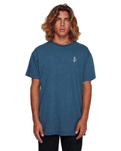 DARK BLUE MENS CLOTHING BILLABONG TEES - BB-9591011-B69