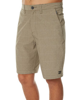 DARK KHAKI MENS CLOTHING BILLABONG SHORTS - 9571716DKHA