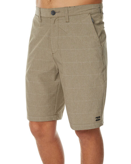 DARK KHAKI MENS CLOTHING BILLABONG SHORTS - 9571716DKHA