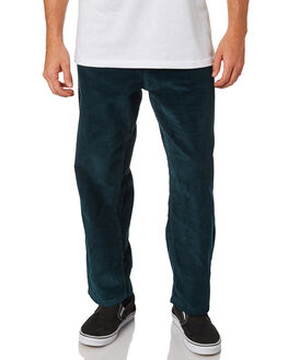 DARK TEAL MENS CLOTHING POLAR SKATE CO. PANTS - PSC-93CORD-DTEA
