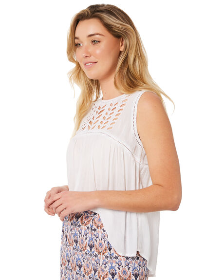 OFF WHITE WOMENS CLOTHING RIP CURL FASHION TOPS - GSHER10003