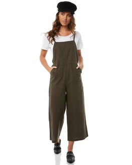 MILITARY WOMENS CLOTHING RVCA PLAYSUITS + OVERALLS - R283754MILT