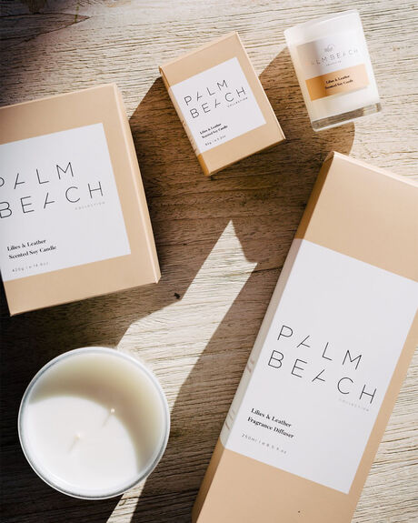 LILLIES LEATHER HOME + BODY HOME PALM BEACH COLLECTION HOME FRAGRANCE - RDXLLDMUL