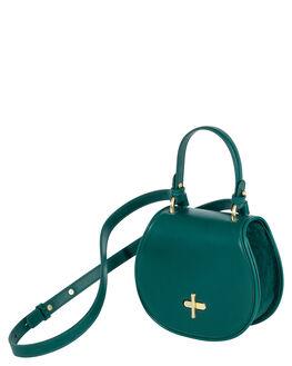 HUNTER GREEN WOMENS ACCESSORIES SANCIA BAGS + BACKPACKS - 147B_HGRN