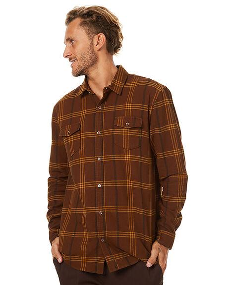 MOCHA MENS CLOTHING SWELL SHIRTS - S5173171MCH