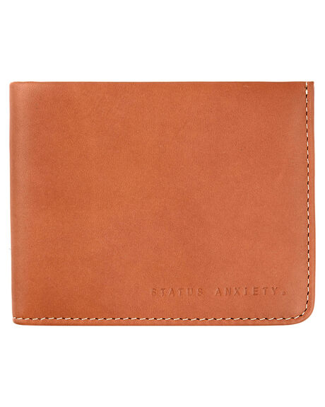 CAMEL MENS ACCESSORIES STATUS ANXIETY WALLETS - SA2192CAM