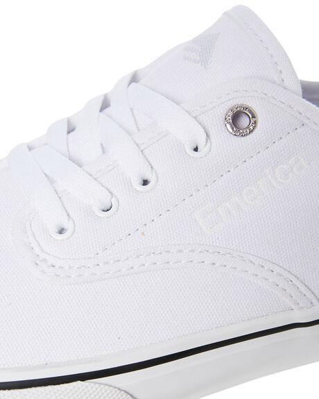 WHITE MENS FOOTWEAR EMERICA SNEAKERS - 6101000118105
