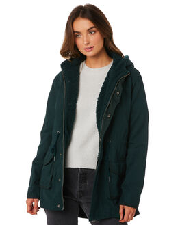 FOREST WOMENS CLOTHING ALL ABOUT EVE JACKETS - 6433052GRN