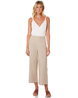 TAN WOMENS CLOTHING THE HIDDEN WAY PANTS - H8189192TAN
