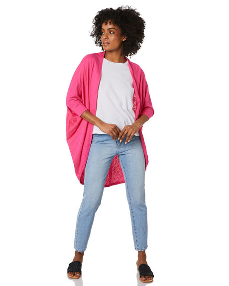 FUCHSIA WOMENS CLOTHING BETTY BASICS JACKETS - BB265S20FUCS