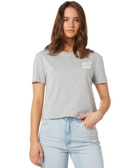GREY MARLE WOMENS CLOTHING BILLABONG TEES - 6595008GYM