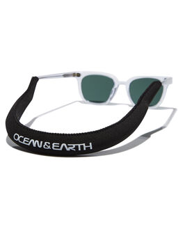 BLACK MENS ACCESSORIES OCEAN AND EARTH SUNGLASSES - AMMC09BLK