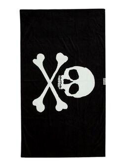 BLACK MENS ACCESSORIES LEUS TOWELS TOWELS - 02PRSWBKBLK