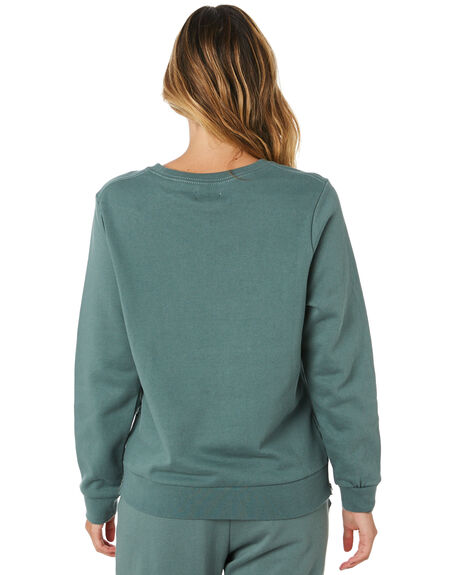 HUNTER GREEN WOMENS CLOTHING ELWOOD JUMPERS - W91223HTRGR