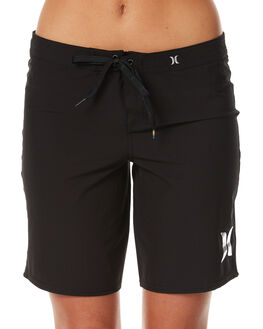 BLACK WOMENS CLOTHING HURLEY SHORTS - GBS000054000A