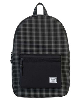 BLACK GRID WOMENS ACCESSORIES HERSCHEL SUPPLY CO BAGS - 10005-01579-OSGRID