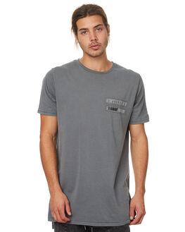 PIGMENT GREY MENS CLOTHING ZANEROBE TEES - 115-TDKPGRY