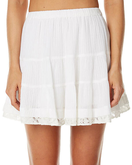 WHITE WOMENS CLOTHING TIGERLILY SKIRTS - T362276WHITE