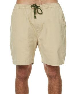 NATURAL MENS CLOTHING DEUS EX MACHINA SHORTS - DMP73331NAT