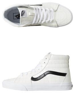 WHITE WOMENS FOOTWEAR VANS SNEAKERS - SSVN-02QGKXQWHTW