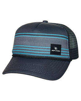 BLACK KIDS BOYS RIP CURL HEADWEAR - KCAMS10090