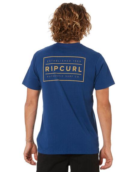 ROYAL BLUE MENS CLOTHING RIP CURL TEES - CTEMO90071