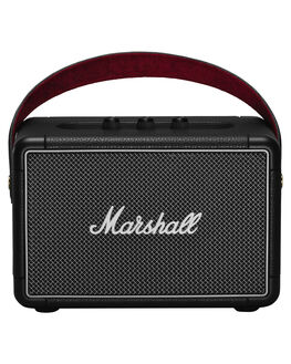 BLACK MENS ACCESSORIES MARSHALL AUDIO + CAMERAS - 155685BLK