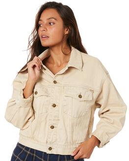 DESERT SAND WOMENS CLOTHING THRILLS JACKETS - WTDP-219JDSAND