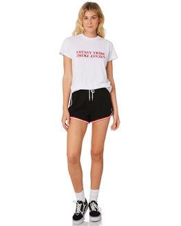 WHITE WOMENS CLOTHING STUSSY TEES - ST195013WHT