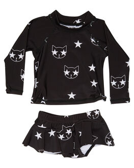 BLACK KIDS BABY TINY TRIBE CLOTHING - TTS17-11004SLBLK