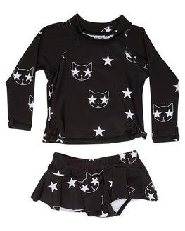 BLACK OUTLET KIDS TINY TRIBE CLOTHING - TTS17-11004SLBLK