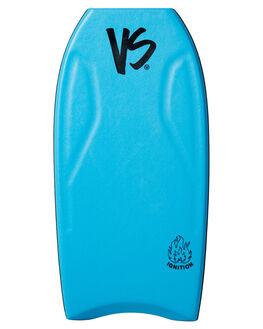 AQUA FLURO YELLOW BOARDSPORTS SURF VS BODYBOARDS BODYBOARDS - V19IGNITE42AQAQFY