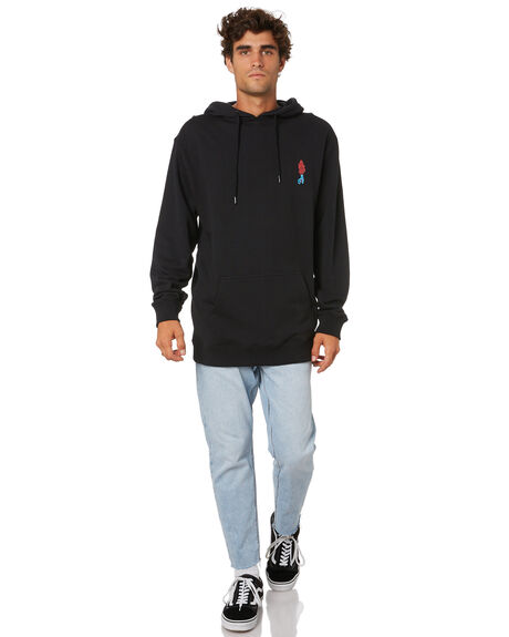 ANTIQUE BLACK MENS CLOTHING SANTA CRUZ JUMPERS - SC-MFA0875ANTQBLK