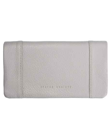 LIGHT GREY WOMENS ACCESSORIES STATUS ANXIETY PURSES + WALLETS - SA1343GRY