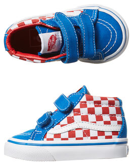 RACING RED IMPERIAL KIDS TODDLER GIRLS VANS FOOTWEAR - VN-048JMJ4RED