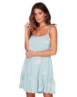 CLOUD BLUE WOMENS CLOTHING BILLABONG DRESSES - BB-6507487-CLB