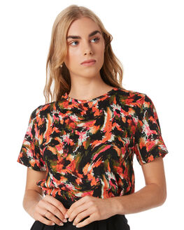 MULTI WOMENS CLOTHING GINGER AND SMART TEES - S19103AMULTI