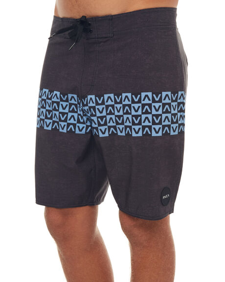 BLACK MENS CLOTHING RVCA BOARDSHORTS - R171409N10