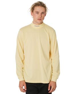 EASY YELLOW MENS CLOTHING ADIDAS TEES - DU8323YELLW