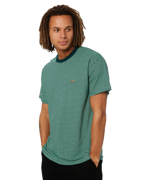 GREEN MENS CLOTHING MISFIT TEES - MT016101GRN