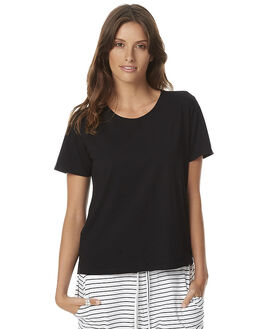 BLACK WOMENS CLOTHING SWELL TEES - S8161279BLK