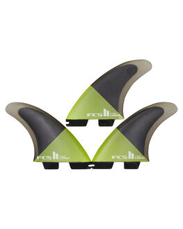 ACID BLACK BOARDSPORTS SURF FCS FINS - FCAR-PC04-TS-RACBLK