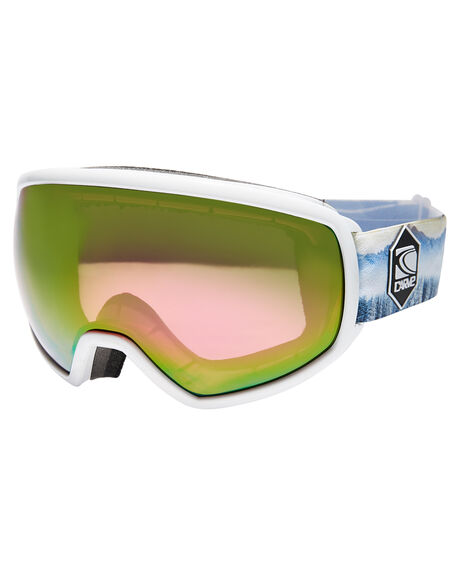 WHITE ROSE LENS BOARDSPORTS SNOW CARVE GOGGLES - 6165WHIRS