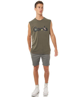 ARMY MENS CLOTHING BARNEY COOLS SINGLETS - 150-MC4ARMY