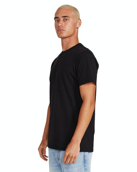 BLACK MENS CLOTHING GENERAL PANTS CO. BASICS TEES - 19213000021