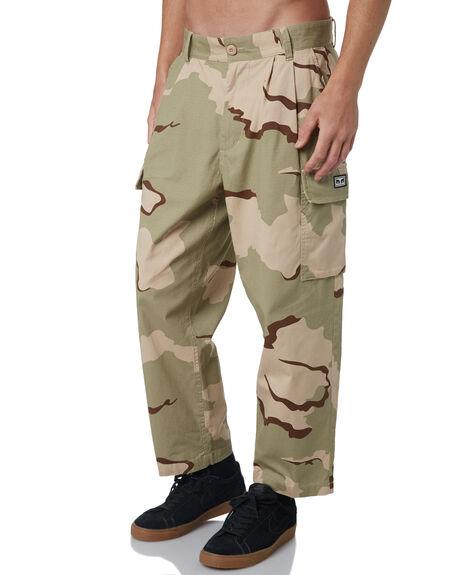 DESERT CAMO MENS CLOTHING OBEY PANTS - 142020103DCAM
