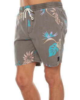 BIRCH MENS CLOTHING GLOBE BOARDSHORTS - GB01718011BIRCH