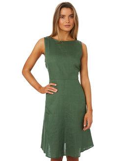 GRASS WOMENS CLOTHING LILYA DRESSES - LND09-PRSS18-GR